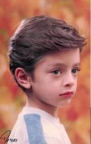 عکسهایی از کودکی بهرام رادان