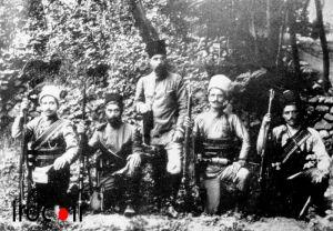 یپرم خان ارمنی به اتفاق مجاهدین مشروطه