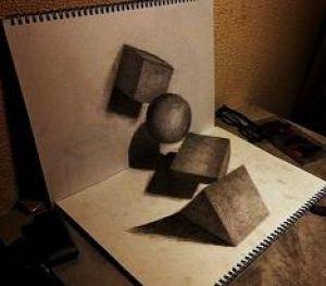 نقاشی های دو بعدی