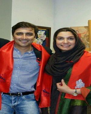 چهره های مشهور ایرانی با همسرانشان