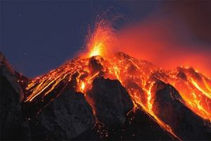 تصاویری تکان دهنده از آتشفشان شیلی
