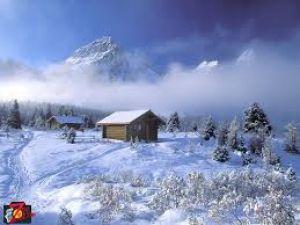 تصاویر بکر وزیبا ازطبیعت پر برف