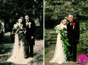 مراسم ازدواج بعد از 70 سال
