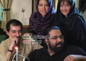 عکسهایی متفاوت از شهاب حسینی و همسرش و دو فرزندشان