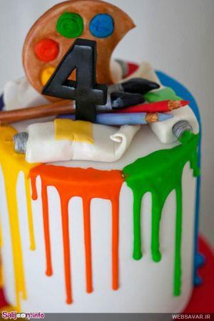 دیدنی ترین کیک های تولد سری اول