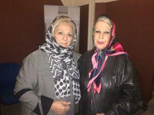 همسر ناصر حجازی در مراسم اکران فیلم من ناصر حجازی هستم