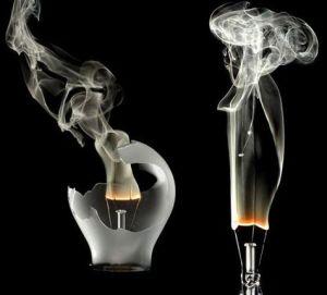 زیبایی باورنکردنی هنر عکاسی با دود و بخار!