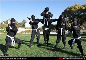 عکسهای دیدنی از دختران نینجای ایرانی