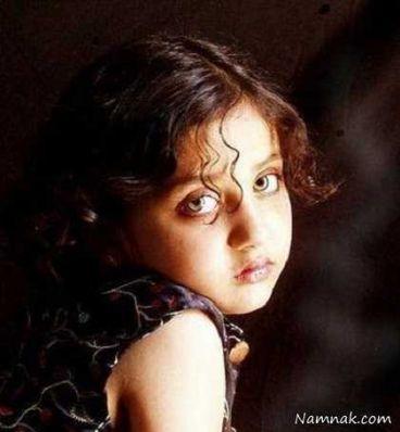دختری افغان با زیباترین چشم های جهان