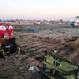 تصاویر و جزئیات سقوط هواپیمای مسافربری اکراین در نزدیکی شهریار