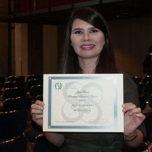 دانشمند جوان ایرانی، برنده جایزه جامعه اروپایی بیومواد شد
