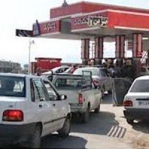 شمارش معکوس برای صف های طولانی در جایگاه های بنزین
