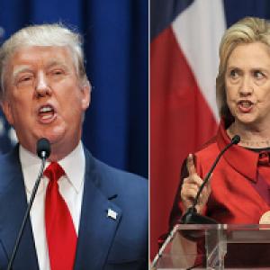 به این میگن مناظره: دونالد ترامپ و هیلاری كلینتون