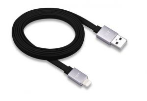AluCable Flat™ Deluxe Lightning Cable  (4ft1.2 m)