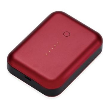 Gum++™ Portable USB Power Pack6000 mAh (Alu Red)