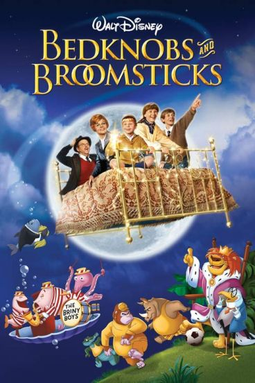 دانلود انیمیشن Bedknobs and Broomsticks 1971 با دوبله فارسی
