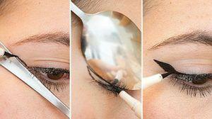 چطور با استفاده از «قاشق» آرایش کنیم؟
