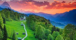 روستای سبز و زیبای زروم
