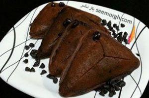 کیک شکلاتی 5 دقیقه ای بدون فر برای خانم های کارمند