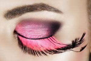 مدل آرایش صورت فانتزی زیبا 2011