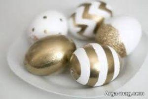 تخم مرغ رنگی عید سال گاو