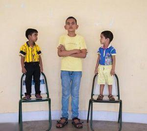 قد 170 سانتی پسر بچه 5 ساله