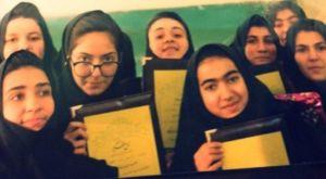 مهناز افشار در دوران دبیرستان + عکس