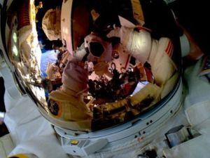 عکس سلفی در فضا