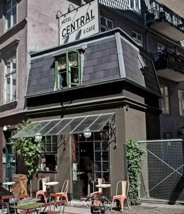 هتل سنترال کپنهاگ، کوچکترین هتل جهان