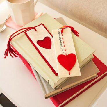 با قلب های قرمز همسرتان را غافلگیر کنید!!