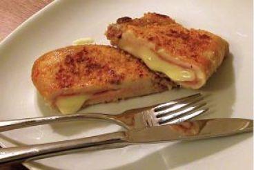 طرز تهیه کوردن بلو، غذایی فرانسوی