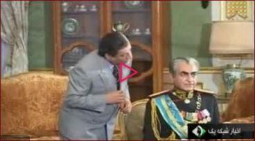 امام خمینی در سریال معمای شاه + فیلم