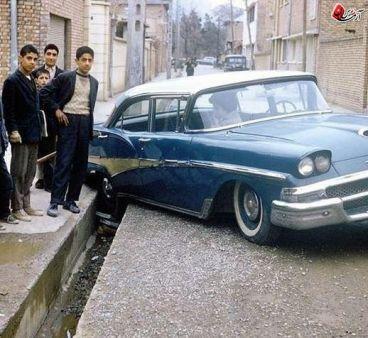 عکس رانندگی زنان در تهران قبل از انقلاب